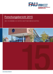 Click on the image to view the Research Report 2015 (German)
