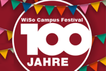 "Towards entry ""100 years WiSo Nuremberg: WiSo Campus Festival"""